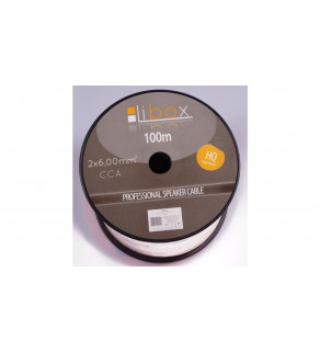 Przewód głośnikowy CCA 2x6 ECa LB0049 LIBOX /100m