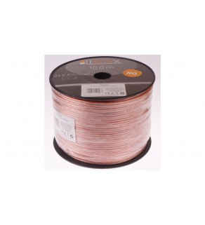 Przewód głośnikowy CCA 2x2,50 ECa LB0009 LIBOX /100m