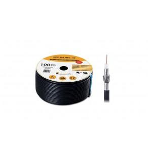 Przewód koncentryczny żelowany SAT Trishield HD 1,02/4,7 PCC102 LIBOX /100m