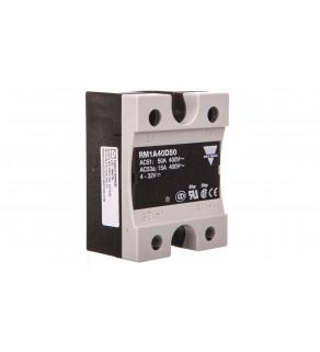 Przekaźnik półprzewodnikowy jednofazowy 42-440V AC 50A 4-32V DC RM1A40D50