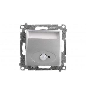 Simon 54 Oprawa oświetleniowa LED 14V z czujnikiem ruchu (0,42W) srebrny mat DOSC14.01/43