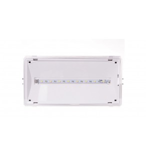 Oprawa awaryjna EXIT IP65 3W 1h jednozadaniowa biała ETE/3W/E/1/SE/X/WH