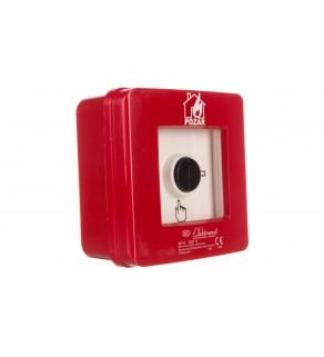 Ręczny ostrzegacz pożarowy 4Z 12A IP65 WP-5 ROP B 921432