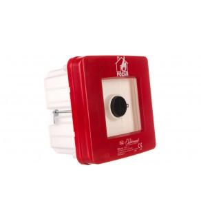 Ręczny ostrzegacz pożarowy 2Z 2R 12A IP65 WPp-4s ROP A 921562