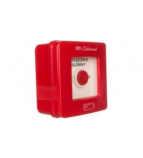 Wyłącznik alarmowy 4Z 12A /WYŁĄCZNIK GŁÓWNY/ IP55 WG-5s 921429