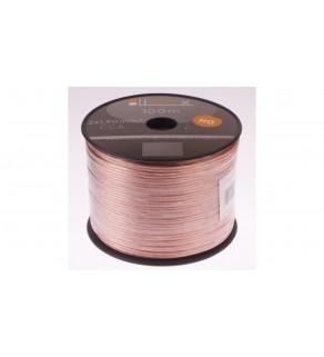 Przewód głośnikowy CCA 2x1,5 ECa LB0008 LIBOX /100m