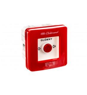 Wyłącznik alarmowy 1Z 1R 12A /WYŁĄCZNIK GŁÓWNY/ IP55 WGp-1s 921590