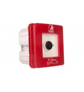 Ręczny ostrzegacz pożarowy 2R 12A IP65 WPp-3s ROP A 921554