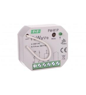 Radiowy pojedyńczy przekaźnik bistabilny - montaż P/t 85-265V AC/DC FW-R1P