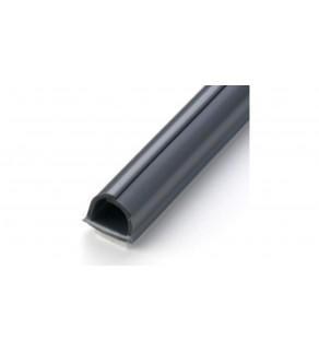 Cablefix Ochronna rynienka na kable 8x7mm srebrno-szary /blister 4x1m/ 2201-70