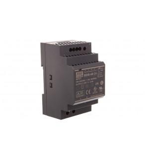 Zasilacz impulsowy 24V DC 2,5A 60W wej. 100-240V AC 1,8A HDR-60-24