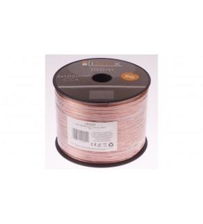 Przewód głośnikowy CCA 2x1 ECa LB0007 LIBOX /100m