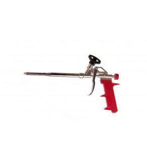 Pistolet do pianki montażowej adapter pokryty teflonem korpus aluminiowy uchwyt z plastiku 21B509