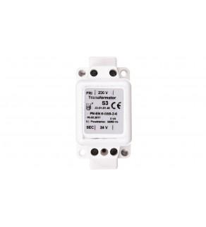 Transformator jednofazowy S-3 3VA 230V/24V 42-01101.48
