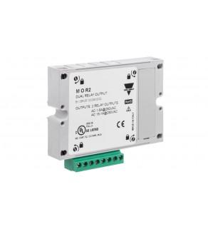 Moduł wyjściowy (impulsowy/alarmowy) 2 wyjścia przekaźnikowe do analizatorów WM20/30/40 MOR2