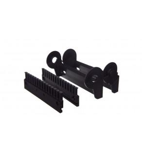Element mocujący wahliwy z grzebieniem 130mm 15 zębów 2615.34PZB