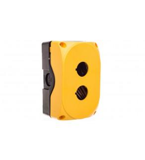 Obudowa sterownicza bez wyposażenia żółta 2 otwory LPZP2A5