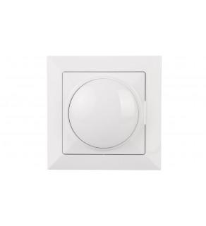 OPAL Ściemniacz obrotowy 60-400W 230V biały SO-Op