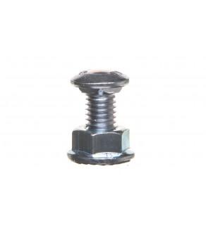 Śruba z łbem grzybkowym + nakrętka kołnierzowa ząbkowana SGK M8X14 651241 /100szt.