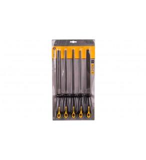 Pilniki do metalu, 200 mm/2, zestaw 5 elementów 06A250