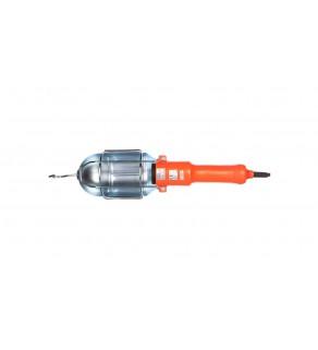 Oprawa przenośna E27 5m max. 60W pomarańczowa OS-KAN527-24