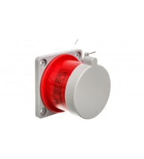Wtyczka tablicowa prosta 32A 3P+N+Z 400V czerwona IP44 WTP 32 5 bez uszczelki 922035