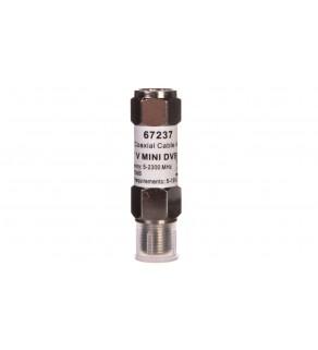 Mini wzmacniacz sygnału DVB-T/SAT 18dB /na kabel koncentryczny/ F - F 67237