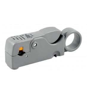 Ściągacz izolacji do kabli telekomunikacyjnych - Stripper /RG58, 59, 62, 6, 3C-2V, ETHERNET/ 611661