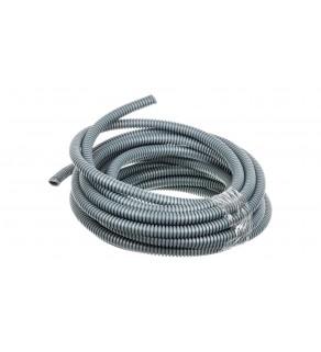 Rura karbowana 750N Mrozoodporna -25C szara PVC fi 16 /10m