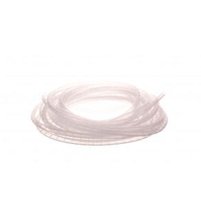 Wąż osłonowy spiralny 12/10mm transparentny SP12 /10m