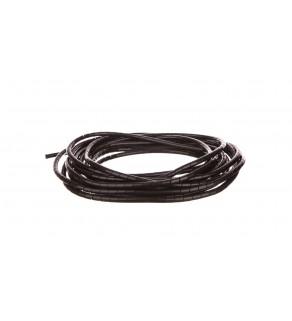 Wąż osłonowy spiralny 10/8,2mm czarny SP9BK /10m