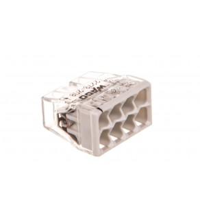 Szybkozłączka 8x 0,5-2,5mm2 transparentna/jasnoszara 2273-208 /blister 10szt/ 2273-208/996-010