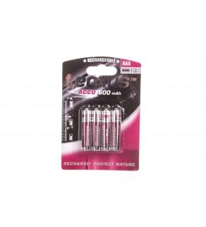 Akumulator Ni-MH HR03 / AAA 600mAh 14112 /4szt.