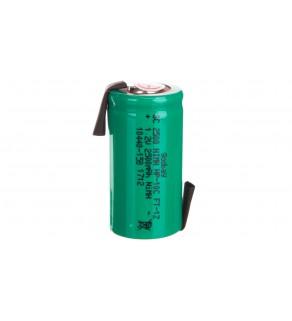 Akumulator Ni-MH Sub-C 1,2V 2500mAh HP-10C FT 1Z /blaszki lutownicze/ 72806