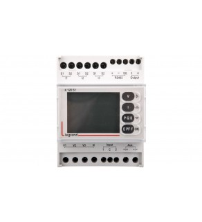 Analizator parametrów sieci EMDX3 TH35 RS485 412051
