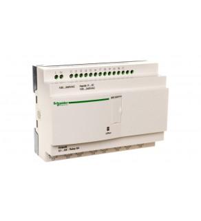 Sterownik programowalny 12 wejść 8 wyjść 100-240V AC RTC/LCD Zelio SR2E201FU