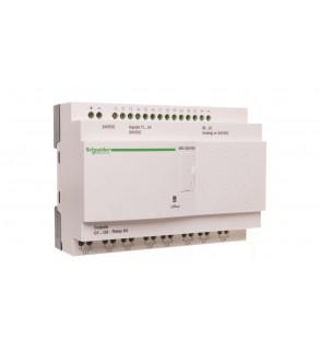 Sterownik programowalny 12 wejść 8 wyjść 24V DC RTC/LCD Zelio SR2D201BD