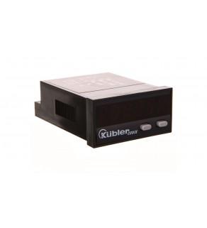 Wskaźnik częstotliwości LED 10-30V DC DIN 48x24 IP65 CODIX 522 6.522.012.300