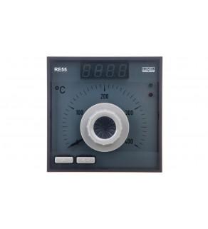 Regulator analogowy nastawa Pt100 0-400st.C regulator PID konfigurowane wyjście przekaźnikowe bez atestu KJ RE55 0531000