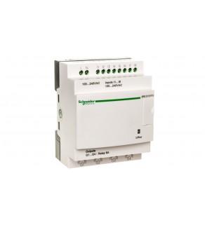 Sterownik programowalny 8 wejść 4 wyjścia 100-240V AC RTC/LCD Zelio SR2E121FU