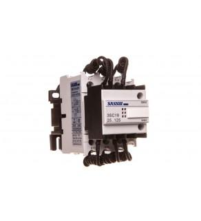 Stycznik łączenia kondensatorów 3P 10/20kvar 29/37,5A 1Z 1R SLK_3SC19-43