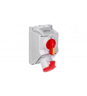 Zestaw instalacyjny z gniazdem 4P (0-I) 32A IP54 C32-18 974001