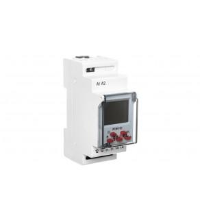 Programator czasowy cyfrowy 1-kanałowy tygodniowy Econo 230V AC ZCM-11E EXT10000185