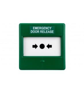 Przycisk ewakuacyjny zielony 1P IP24D CXM/CO/P/G/BB GREEN 4931210FUL-0135