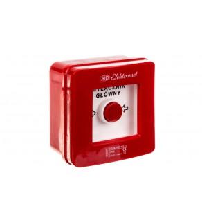 Wyłącznik alarmowy samoczynny natynkowy WG-1s IP-55 921440
