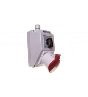 Zestaw instalacyjny z gniazdem 32A 5P (0-1) ZI02R441