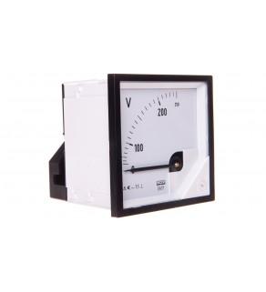 Woltomierz analogowy 72x72 N IP50 E61 250V pozycja pracy C3 K 90 st. bez atestu KJ EA17N E61300000000