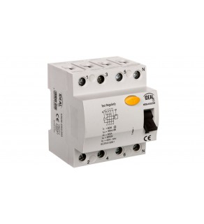 Wyłącznik różnicowoprądowy 4P 63A 0,3A typ AC KRD6-4/63/300 23201