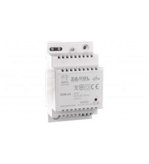 Zasilacz stabilizowany 24V DC 0,125A ZSM-24 EXT10000173