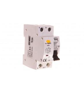 Wyłącznik różnicowo-nadprądowy 2P B 6A 0,03A typ AC KRO6-2/B6/30 23220